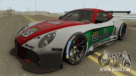 Alfa Romeo 8C Competizione GT3 2009 pour GTA San Andreas