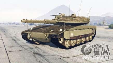 Merkava Mark IV für GTA 5