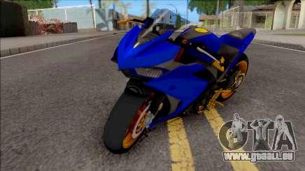 Yamaha R25 Modif Version pour GTA San Andreas