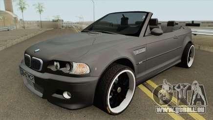 BMW M3 E46 Cabrio MQ für GTA San Andreas