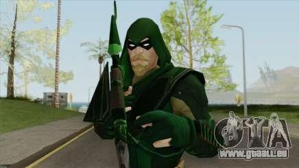 Green Arrow: The Emerald Archer V2 pour GTA San Andreas