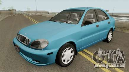 Daewoo Lanos 1.6l 16V 1999-2001 (US-Spec) pour GTA San Andreas