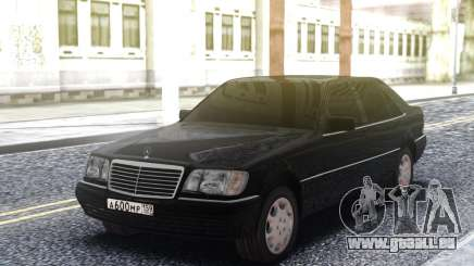Mercedes-Benz W140 Original pour GTA San Andreas