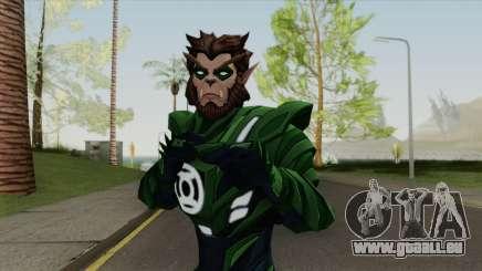 Arkkis Chummuck: Green Lantern Of Sector 3014 V2 pour GTA San Andreas