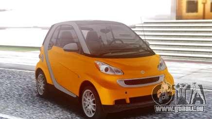 Smart ForTwo Orange für GTA San Andreas