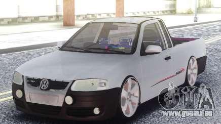 Volkswagen Saveiro G4 Pickup für GTA San Andreas