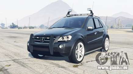 Mercedes-Benz ML 63 AMG (W164) 2009 FBI für GTA 5