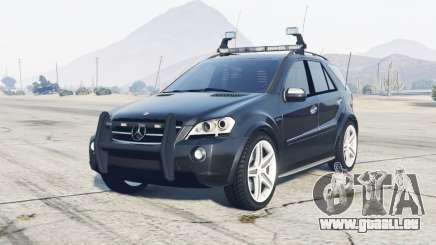 Mercedes-Benz ML 63 AMG (W164) 2009 FBI pour GTA 5