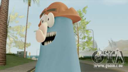Captain Knuckles (Flapjack) pour GTA San Andreas