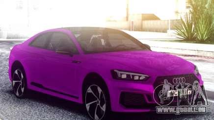 Audi RS5 Purple pour GTA San Andreas
