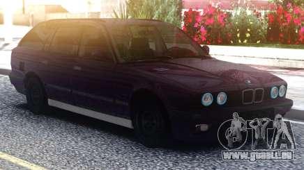 BMW E34 525 Purple pour GTA San Andreas
