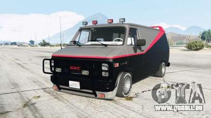 GMC Vandura A-Team Van pour GTA 5