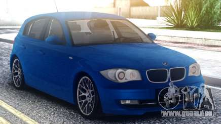 BMW 120i Blue pour GTA San Andreas