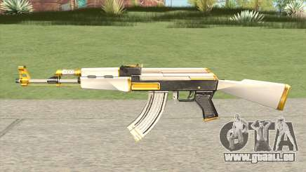 AK-47 White Gold pour GTA San Andreas