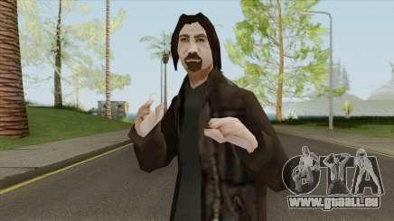Urban Male Criminal (Dark Brown Leather Jacket) für GTA San Andreas