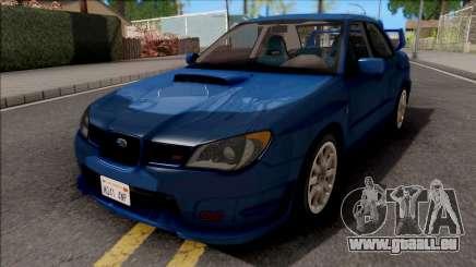 Subaru Impreza WRX STi Blue pour GTA San Andreas
