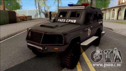 Toyota Land Cruiser Armadillo FAES-CPNB v1.0 pour GTA San Andreas
