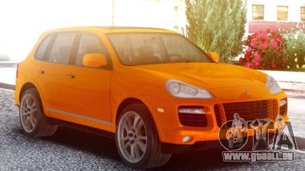 Porsche Cayenne Turbo S Orange pour GTA San Andreas