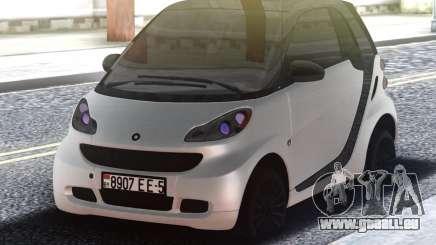 Smart ForTwo White für GTA San Andreas