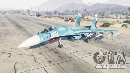 Su-33 soft-Farbe blau für GTA 5