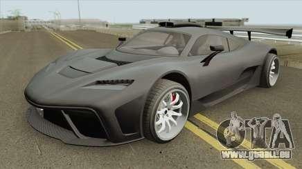 Benefactor Krieger GTA V IVF pour GTA San Andreas