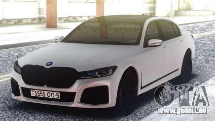 BMW 760Li White für GTA San Andreas