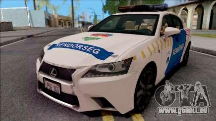 Lexus GS350 Magyar Rendorseg pour GTA San Andreas