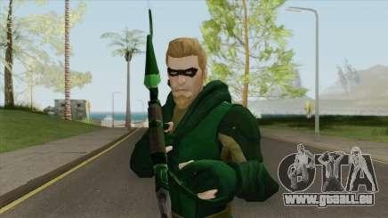 Green Arrow: The Emerald Archer V1 pour GTA San Andreas