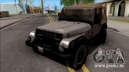 Jeep Wrangler 1988 für GTA San Andreas