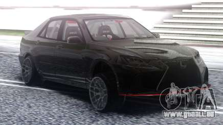 Lexus IS300 Drift Black pour GTA San Andreas