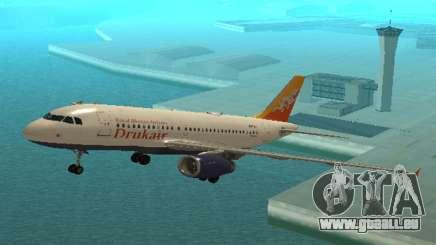 Druk Air (Royal Bhuth Die Fluggesellschaft Strebt) Airbus A319-100 für GTA San Andreas