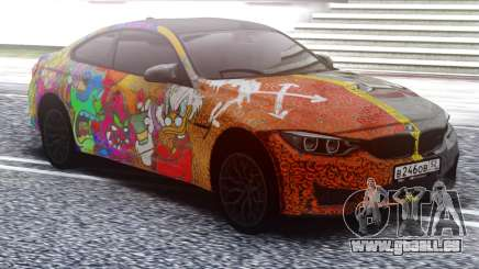 BMW M4 Two face für GTA San Andreas