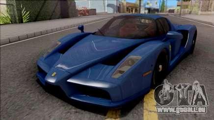 Ferrari Enzo 2002 Blue für GTA San Andreas