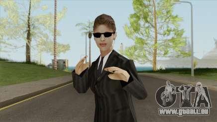 FBI Girl für GTA San Andreas