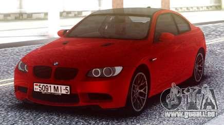 BMW M3 Original Red pour GTA San Andreas