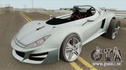 Ocelot Locust GTA V (Stock) IVF pour GTA San Andreas