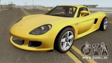 Porsche Carrera GT 2006 für GTA San Andreas