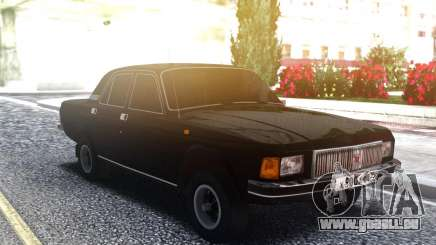 Volga 3102 Noir pour GTA San Andreas