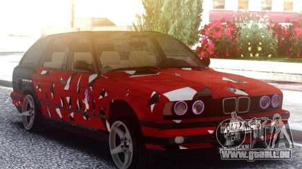 BMW E34 525i Peinture pour GTA San Andreas