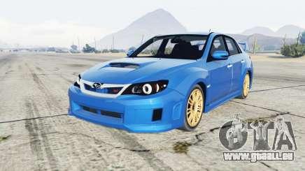 Subaru Impreza WRX STI (GE) 2011 pour GTA 5