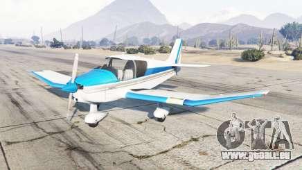 Robin DR-400 vivid sky blue für GTA 5