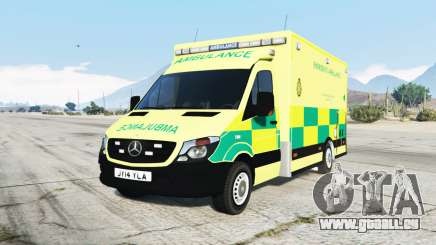 Mercedes-Benz Sprinter 2014 British Ambulance für GTA 5