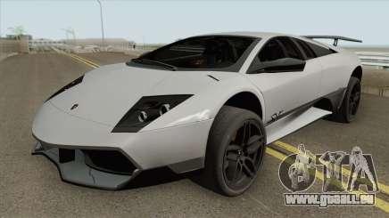 Lamborghini Murcielago LP 670-4 SV 2010 pour GTA San Andreas
