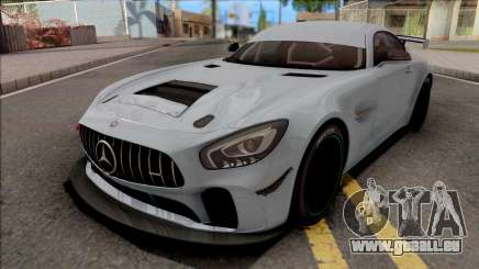 Mercedes-AMG GT4 2018 für GTA San Andreas