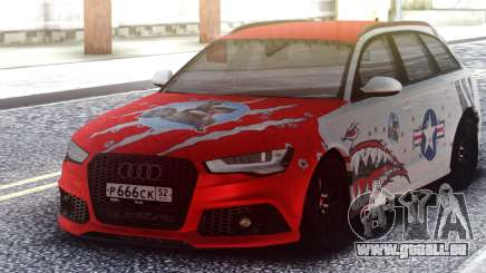 Audi RS 6 Beaten but not broken für GTA San Andreas