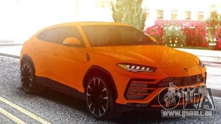 Lamborghini Urus Orange für GTA San Andreas