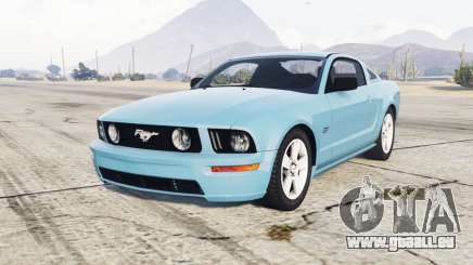 Ford Mustang GT 2005 half baked pour GTA 5