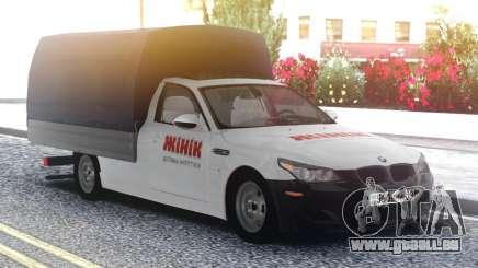 BMW M5 E60 Van pour GTA San Andreas