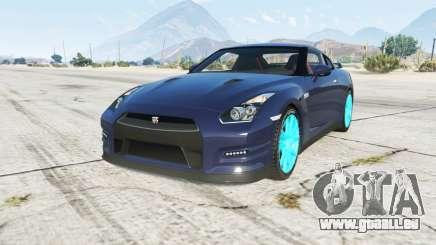 Nissan GT-R (R35) 2014 pour GTA 5