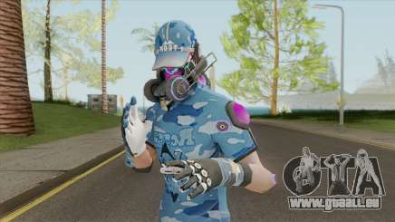 Creative Destruction - Blue Warrior pour GTA San Andreas
